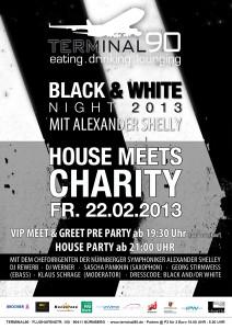 Black And White Night 2013, Terminal90, Plakat